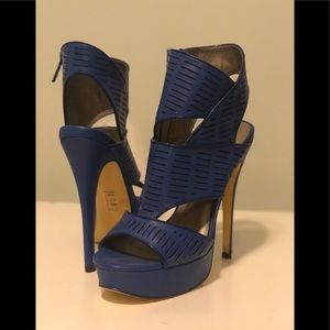 Michael Antonio Blue High Heel